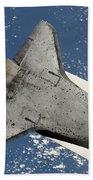 The Underside Of Space Shuttle Beach Towel