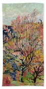 The Valley Of The Sedelle In Crozant Beach Towel