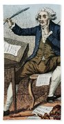 Thomas Paine, American Founding Father Beach Towel by Photo Researchers