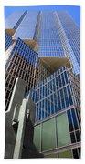 Toronto Financial Core Buildings Beach Towel
