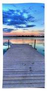 Tranquil Dock Beach Sheet