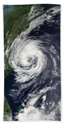 Tropical Storm Gustav Beach Towel