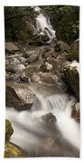 Unnamed Waterfall Along South Tongass Beach Towel