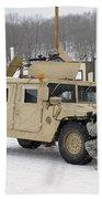 U.s. Soldiers Take Cover Beach Towel