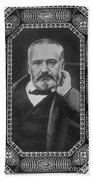 Victor Hugo, French Author Beach Towel