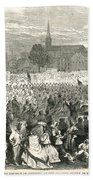 Washington: Abolition, 1866 Beach Towel