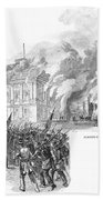 Washington Burning, 1814 Beach Towel