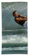 Water Skiing Magic Of Water 28 Beach Towel