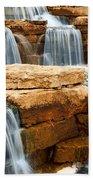 Waterfall Beach Towel by Elena Elisseeva