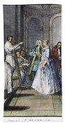 Wedding, C1730 Beach Towel