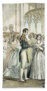 Wedding Of Queen Victoria Beach Sheet