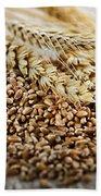 Wheat Ears And Grain Beach Towel