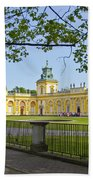 Wilanow Palace - Warsaw Beach Towel