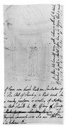 William Blake (1757-1827) Beach Towel