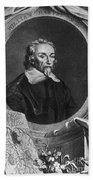 William Harvey, English Physician Beach Towel