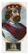 William II (1056-1100) Beach Towel