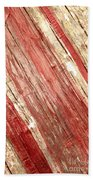 Wood Texture Beach Towel