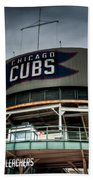 Wrigley Field Bleachers Beach Towel