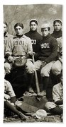 Yale Baseball Team, 1901 Beach Towel