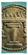 Zoroastrian Fire Altar Beach Towel