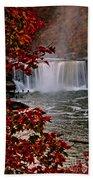 Cumberland Falls Ky Beach Towel