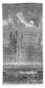 Great Britain: Parliament Beach Towel