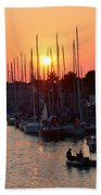 Mackinac Race Beach Towel