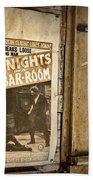 10 Nights In A Bar Room Beach Towel