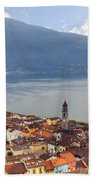 Ascona - Ticino Beach Towel by Joana Kruse