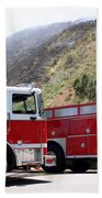 Barnett Fire Beach Towel
