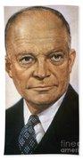 Dwight D. Eisenhower Beach Towel