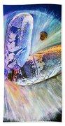 Michael Jackson Beach Towel by Augusta Stylianou