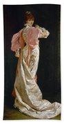 Sarah Bernhardt (1844-1923) Beach Towel