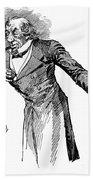 Benjamin Disraeli (1804-1881) Beach Towel