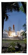 Sts-121 Launch Beach Towel