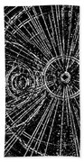 Circle Art Beach Towel