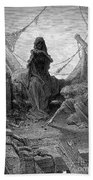 Coleridge: Ancient Mariner Beach Towel