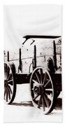 1900 Wagon Beach Towel