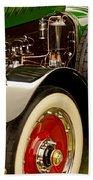 1919 Mcfarlan Type 125 Touring Engine Beach Towel