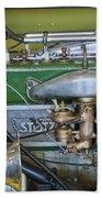 1919 Stutz Bearcat Special Engine Beach Towel