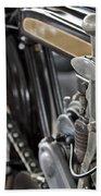 1923 Condor Motorcycle Beach Sheet