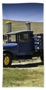 1927 Dodge Graham Bodie Ca Beach Towel