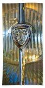 1929 Rolls-royce Phantom II Imperial Cabriolet Headlight Beach Towel