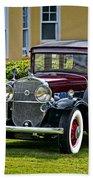 1931 Cadillac V12 Beach Towel