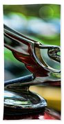 1934 Chevrolet Flying Eagle Hood Ornament - 2 Beach Towel