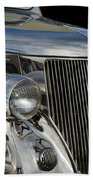 1936 Ford - Stainless Steel Body Beach Towel by Jill Reger