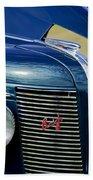 1937 Buick Hood Ornament Beach Towel