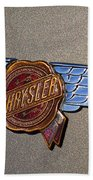 1937 Chrysler Airflow Emblem Beach Towel