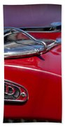 1937 Packard 115-c Cabriolet Hood Ornament  Beach Towel