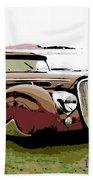 1938 Delahaye Cabriolet Beach Towel